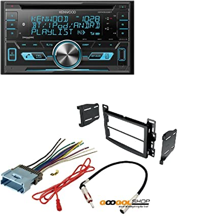 amazon com kenwood double din cd bluetooth siriusxm car stereo rh amazon com 2006 Escalade Interior 2003 Escalade