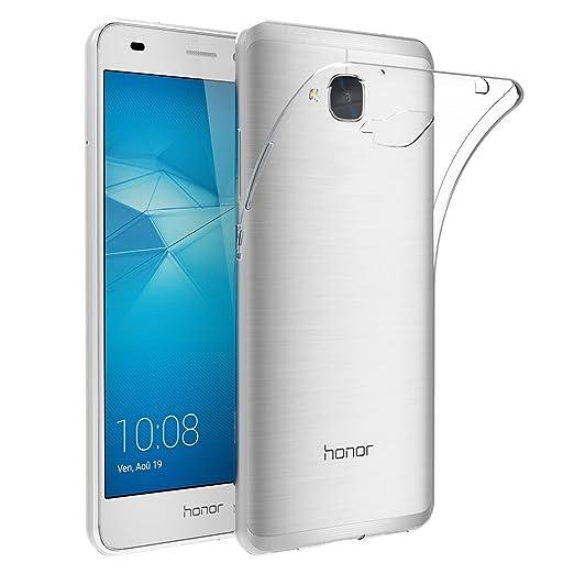 28 opinioni per Cover per Huawei Honor 5C, AICEK Cover Huawei Honor 5C Silicone Case Molle di