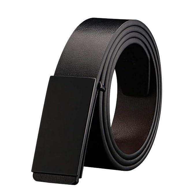 Cinturones para hombres Cinturón de cuero sintético de ...