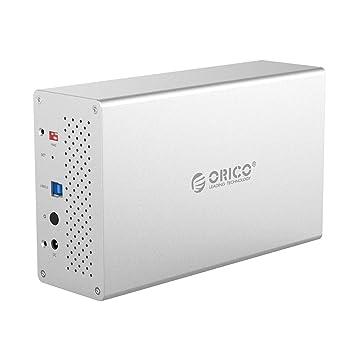ORICO - Caja de Disco Duro de Aluminio Dual USB 3.0 para Disco ...