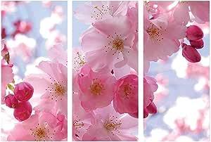 لوحة تابلوه من الكانفا بتصميم زهور عصري، 70سم x 100سم