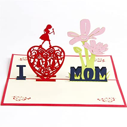 Amazon Paper Spiritz Pop Up Birthday Cards For Women Mum 3d