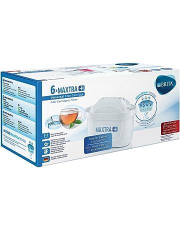BRITA MAXTRA+ 6 Filtros, Cartuchos de Filtrado para el Agua, Recambios Compatibles con Jarras