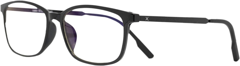 Pixel Lens Dark Gafas para Ordenador, TV, Tablet,Gaming. contra EL CANSANCIO Ocular, Confort Visual, Montura Ligera, CERTIFICADA LUZ Azul - 41% Y UV -100% EN LA Universidad DE TURÍN