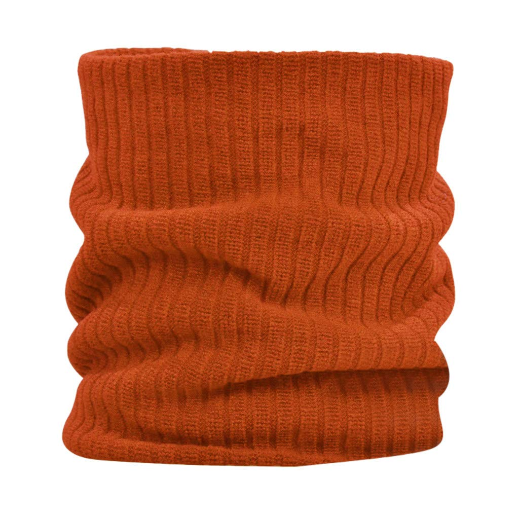 Sikey Windproof Face Mask Multi-Purpose Balaclava Outdoor Winter Sports Thermal Hood Hat Neck Warmer (Orange,)