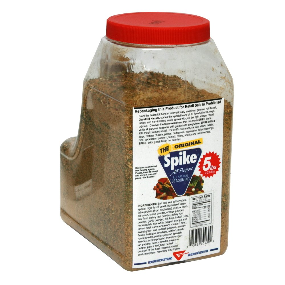 spike original seasoning 5lb bulk amazoncom grocery gourmet food - Seecontainerhuser Wa