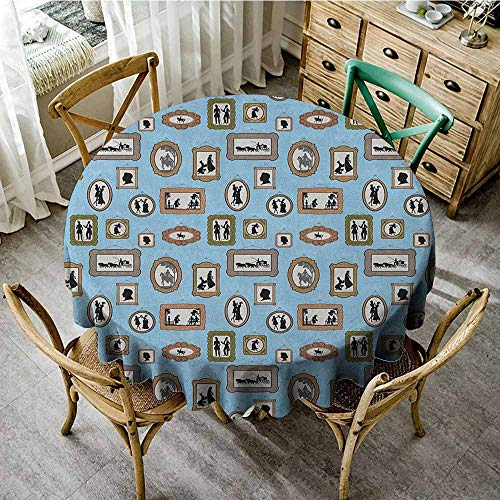 Party Round Tablecloth 63