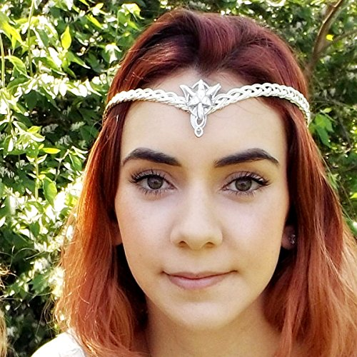 Evenstar Arwen Celtic Weave Circlet Crown