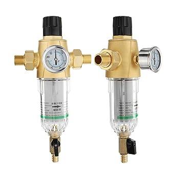 ChaRLes 1/2 Pulgadas 3/4 Pulgadas Interfaz Filtro De Agua Purificador De Agua - ½: Amazon.es: Industria, empresas y ciencia