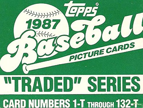 Factory Traded Topps - 1987 TOPPS TRADED Factory Set - 132 Cards