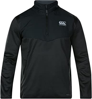Canterbury Mens Thermoreg Spacer Fleece Zip Training Jumper Hoody