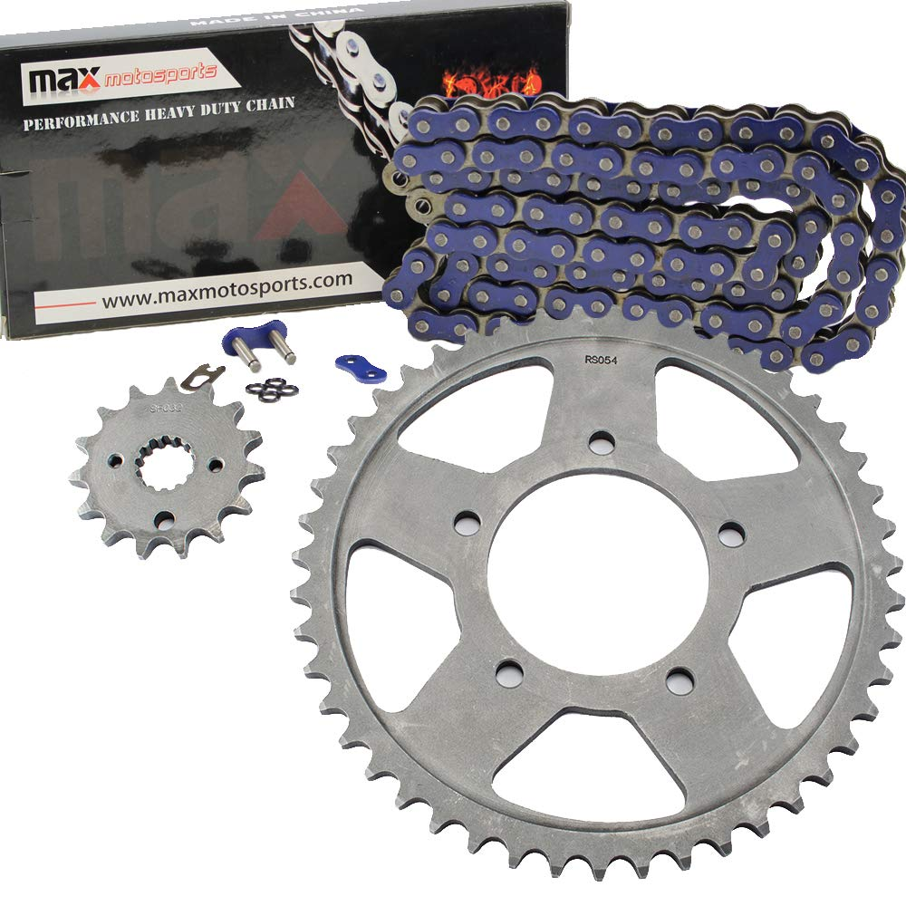 Black O-Ring Chain and Sprocket Kit for Suzuki GSX750 F Katana 1987 1988 1989 1990 1991 1992 1993 1994 1995 1996 1997