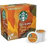 Starbucks Fall Blend 2016 K-Cups 16 Count
