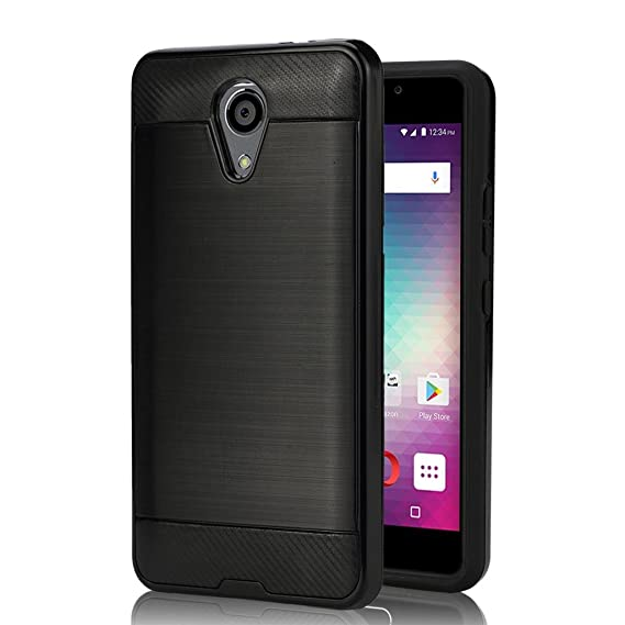 free shipping ef0c4 716f7 BLU Life One X2 L0090UU Cellphone Case , {NFW} [Tough  Hybrid][Armor][Shockproof][Dual Layer][Drop Protection] (VGC Black)