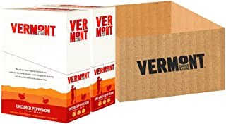 product image for Vermont Smoke & Cure Meat Sticks- Antibiotic Free Turkey Sticks - Gluten-Free Snack - Paleo and Keto Friendly - Nitrate Free - Uncured Pepperoni - 1oz Stick - 48 Count