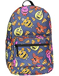 Five Nights At Freddy Large School Backpack FNAF All Over Prints Bag