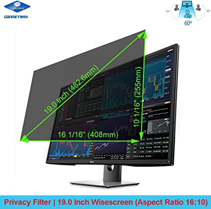 SightPro 19 Inch Computer Privacy Screen Filter for 5:4 Standard Monitor Privacy and Anti-Glare Protector
