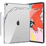 HBorna iPad Pro 12.9インチ ケース Apple Pencilペアリングとワイヤレス充電機能対応 2018 12.9インチ ケース iPadPro 12.9 カバー クリア 透明 耐衝撃 シリコン TPU ゆうパケット