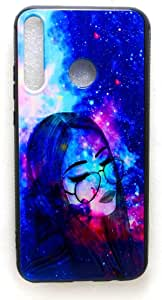 Back Cover 3D Design For Huawei Y7p, Multi Color