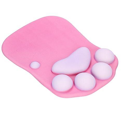 Amazon.com: Lindo de pata de gato alfombrilla de mouse con ...