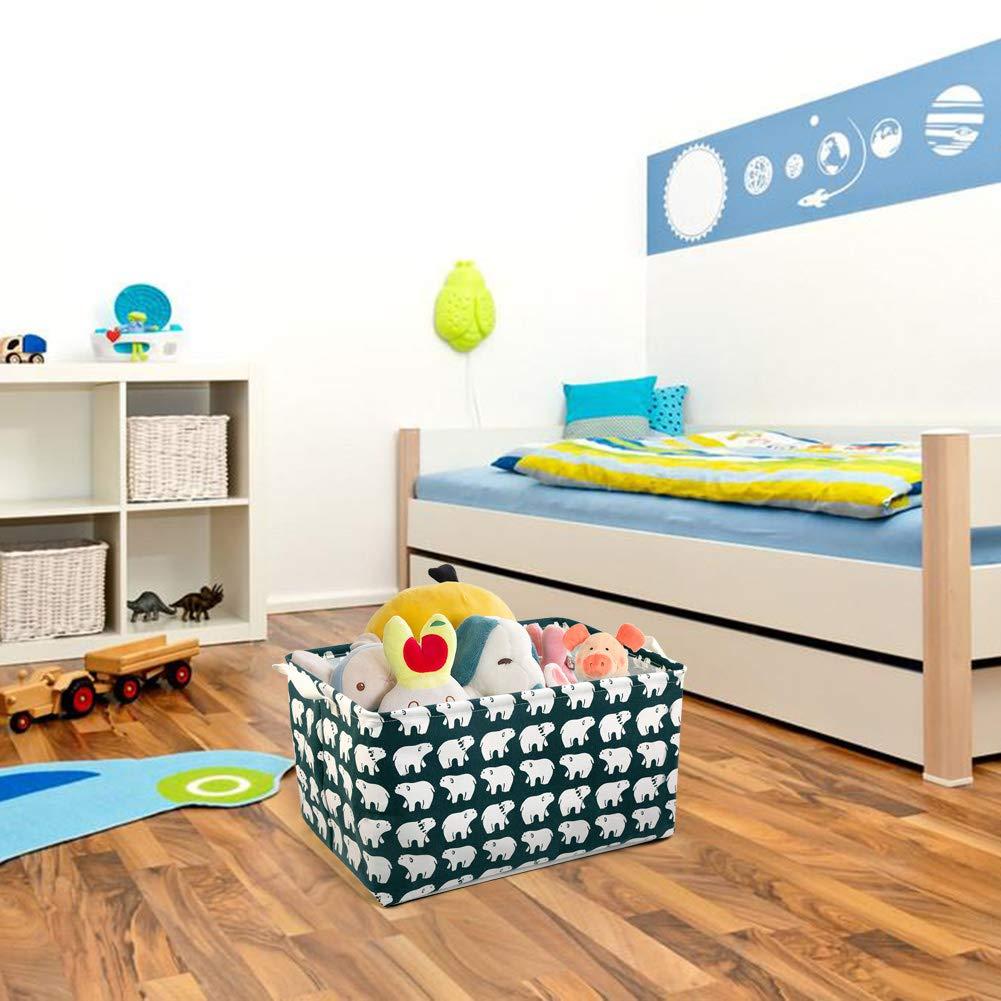 Grigio Star Giocattoli Bambini,Libri NEWSTYLE Cesto Contenitore per Giocattoli Organizer Grandi Piazza Raggruppabili Stoccaggio Paniere per Organizzazione Lavanderia