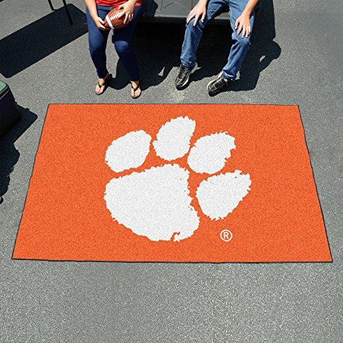 (Fan Mats 3718 Clemson University Tigers 5' x 8' Ulti-Mat Area Rug / Mat)