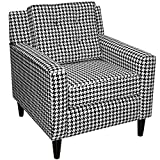 Skyline Furniture Arm Chair, Berne Black