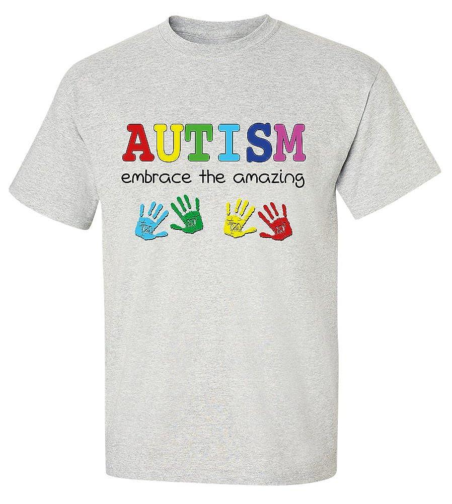 Amazon Bestsyracuse Embrace The Amazing Autism T Shirt Bash 4xl