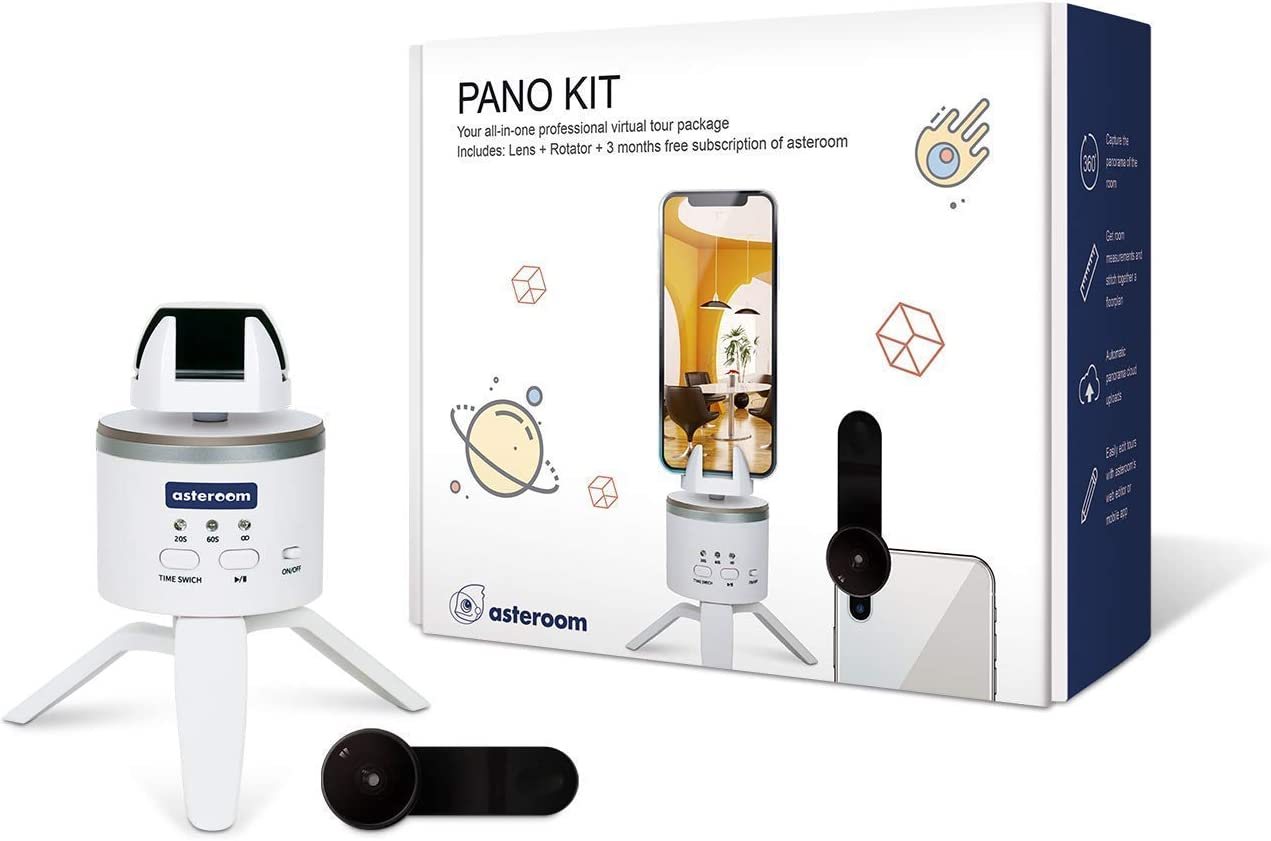 Asteroom Pano Kit - Create 360 Virtual Tours with Your Phone
