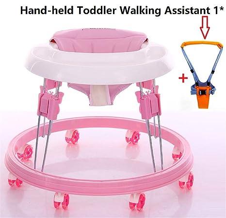 XWDQ Ajustable andadores para bebés con Easy Clean Bandeja ...