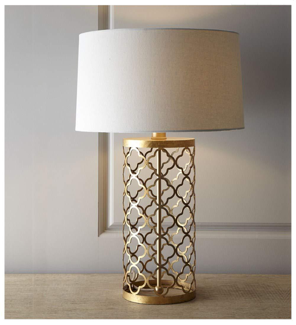 American lampe de table M/étalliques Creuse Cage /à oiseaux Nordique Lampe de table Pour salon Chambre Lampes de chevet-A 34x62cm 13x24inch