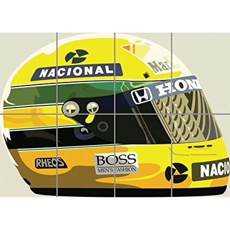 Amazon.com: Ayrton Senna gigante Panel Póster Foto a pr023 ...
