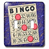 TNMGraphics Games - Playing Bingo - Light Switch Covers - double toggle switch (lsp_238273_2)