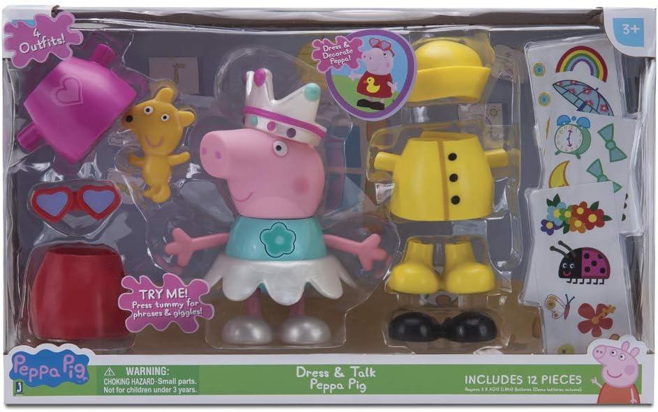 Peppa Pig - Figura/Pack Peppa Vestidos Divertidos: Amazon.es: Juguetes y juegos
