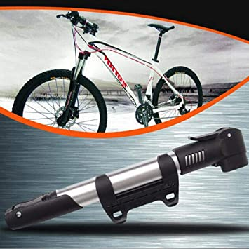 Yukio Home Improvement Mini Bike Pump With Holder Portable Mini