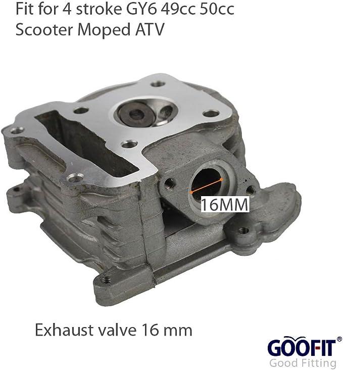 Carburetor Repair Rebuild Kit Fit GY6 QMB139 50cc Scooter Moped 50QT-A 50QT-6