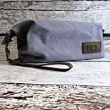 Custom Mens Dopp Travel Toiletry Bag