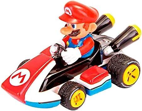 Caja Coche Pull Speed Mario Kart 8 Nintendo Mario: Amazon.es: Juguetes y juegos