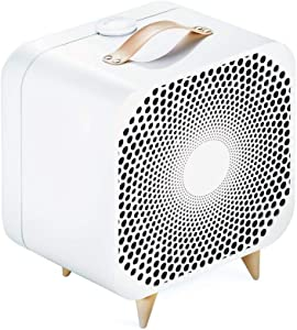 Blueair Blue Pure Purifying Fan 3 Speeds with Washable Pre-Filter Reduces Allergens, Dust, Pollen, Pet Hair