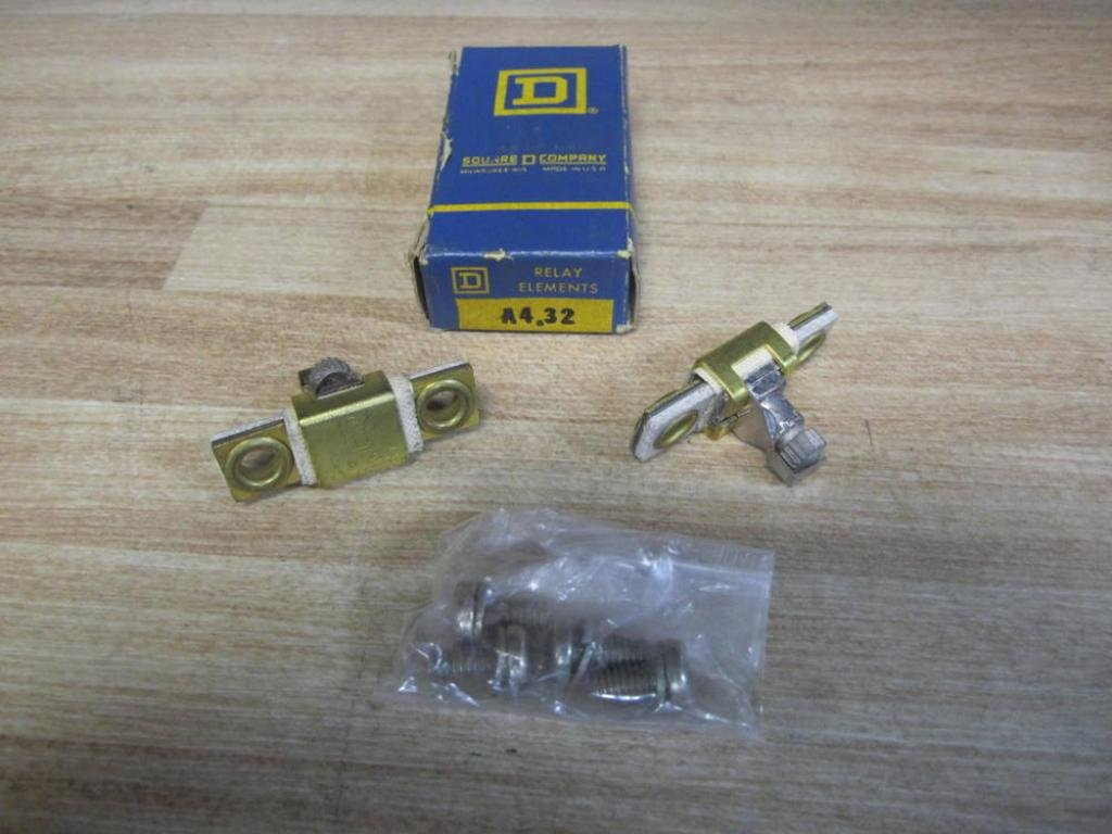 Lot of 2 Square D A7.65 Overload Heaters