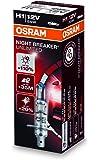 OSRAM NIGHT BREAKER UNLIMITED H1, halogen-headlamp bulb, 64150NBU, 12V, folding carton box (1 piece)
