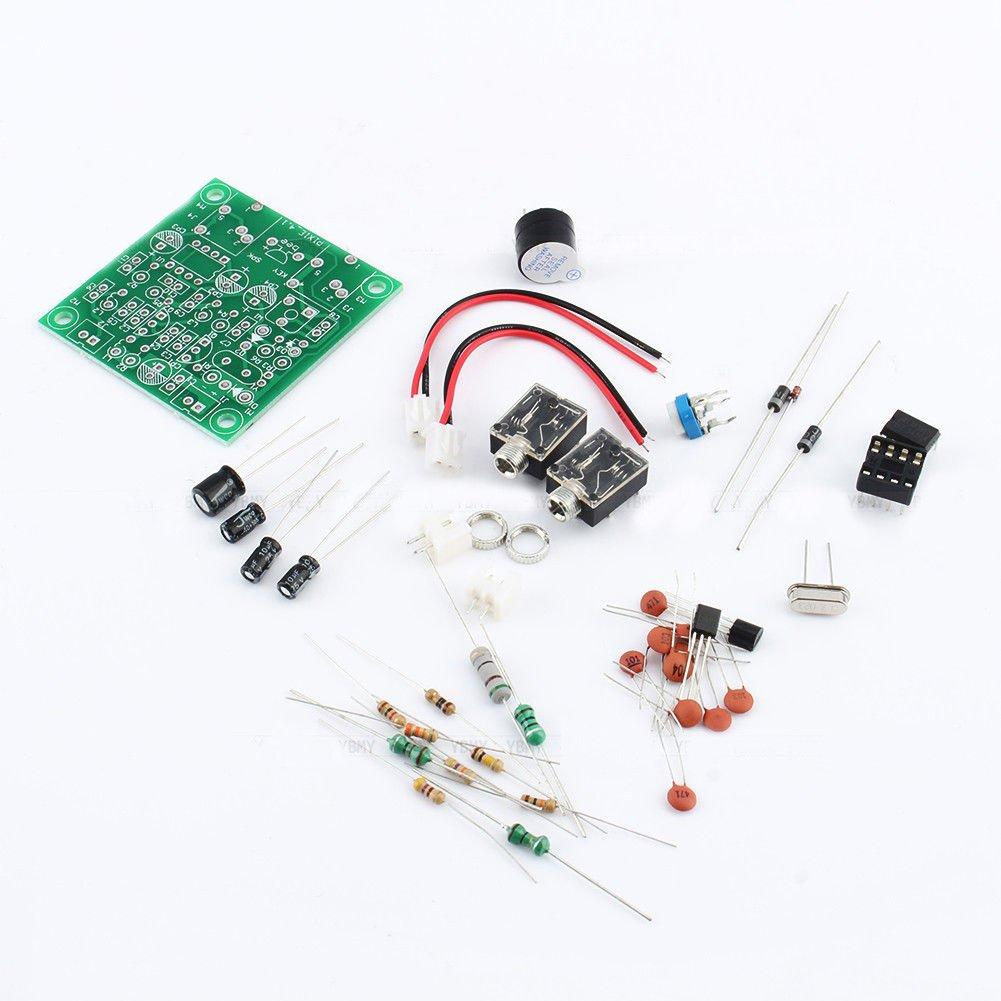 Qianson Ham Radio 40m Cw Shortwave Transmitter Receiver Signal Booster Short Wave Electronics Project Version 41 7023 7026mhz Qrp Pixie Kits Diy With Buzzer Transceiver Home Audio