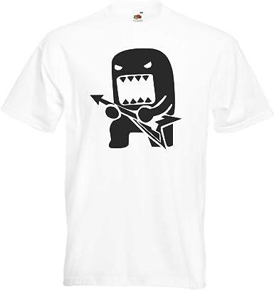 JINTORA Camiseta T-Shirt - Rock Domo con Guitarra - JDM/Die Cut ...