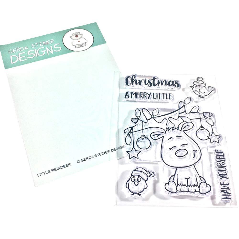 Little Reindeer 3x4 Clear Stamp Set