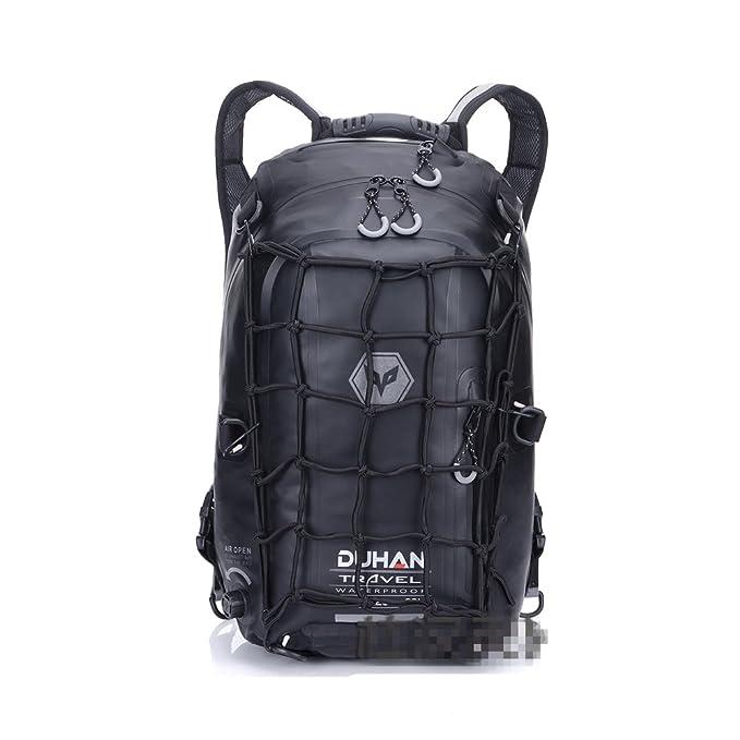 Mochila impermeable motocicleta bolso de tanque de senderismo viajes de equipaje 23L capacidad: Amazon.es: Deportes y aire libre