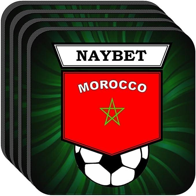 Amazon | ヌールッディーン・ナイベト(モロッコ)サッカーのセット4 ...