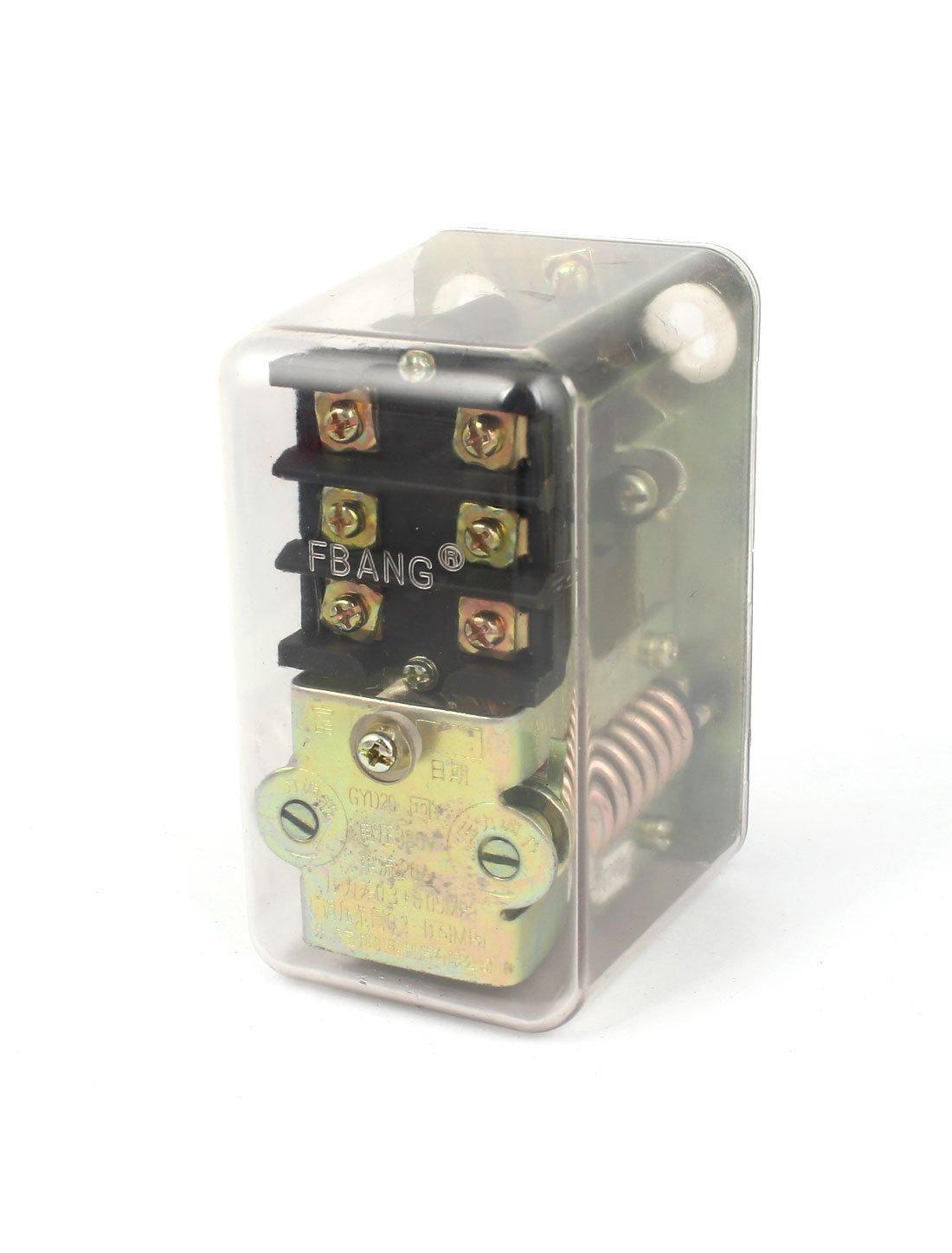 AC 380V 20A 0.3-1.5MPa compresor de aire Interruptor de presión de la válvula de control: Amazon.es: Industria, empresas y ciencia