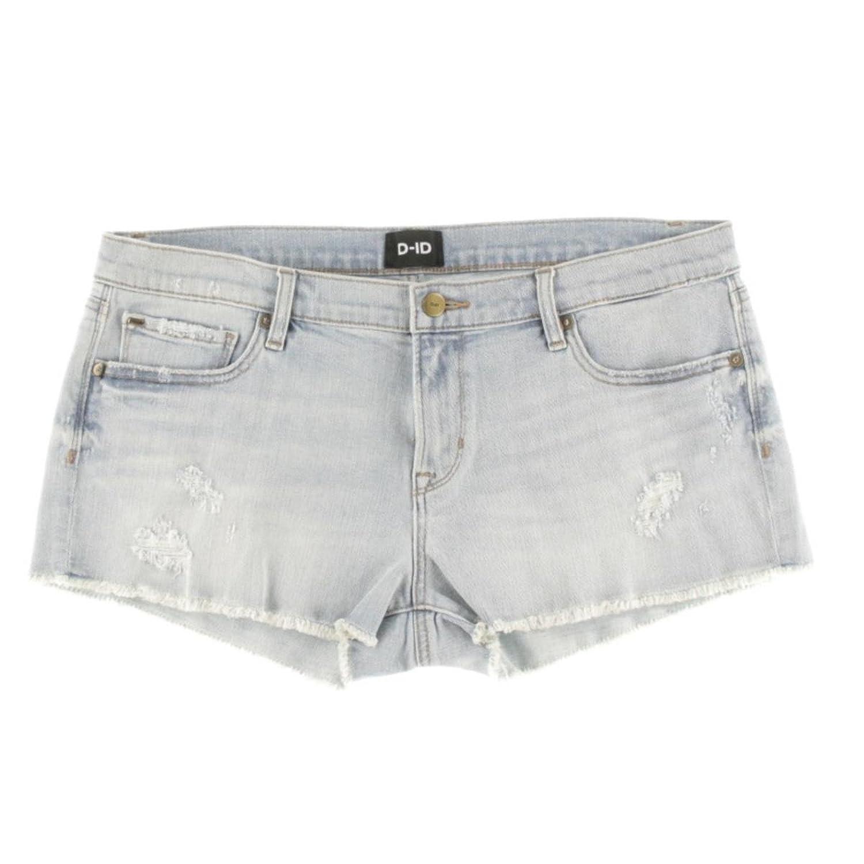 D-ID Womens Denim Distressed Cutoff Shorts