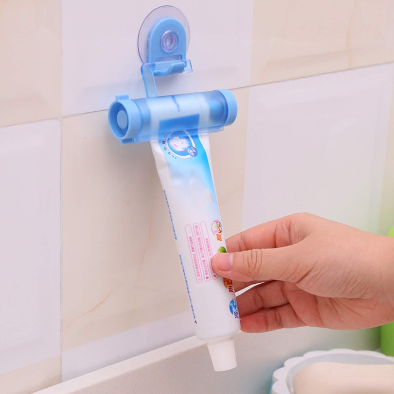 FairytaleMM Universalrollen-Quetscher-tragbarer Zahnpasta-Quetscher-hä ngender Zahnpastaspender-langlebiges Badezimmer-Gerä t, gelegentlich
