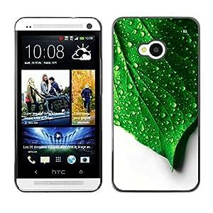 Rain On Me - Metal de aluminio y de plástico duro Caja del teléfono - Negro - HTC One M7